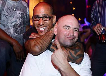 Dana White and Tom Atencio