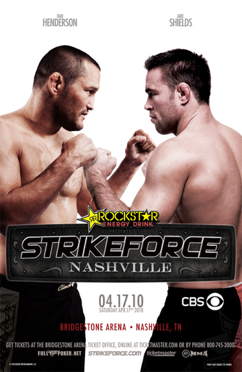 Strikeforce Poster Nashville