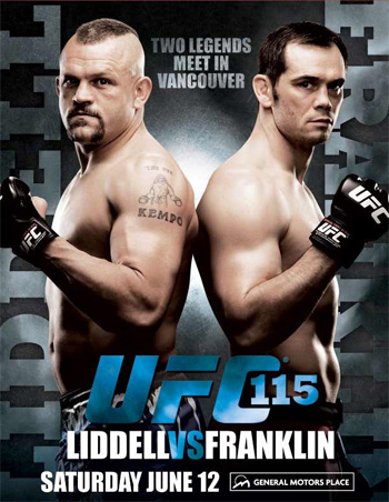 UFC Poster 115: Liddell vs. Franklin