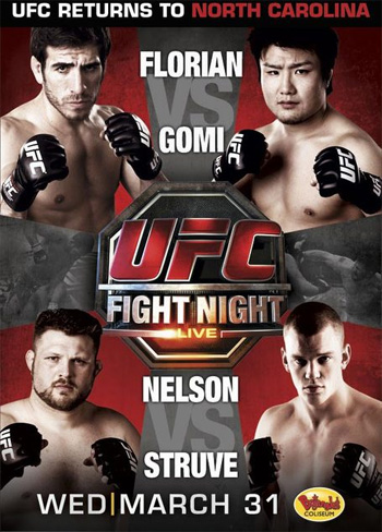 UFC Fight Night Poster 21