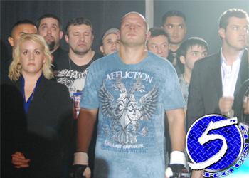 Top heavyweight Fedor Emelianenko