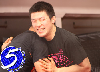 Dream Lightweight Champion Shinya Aoki