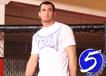 Strikeforce Light Heavyweight Champion Gegard Mousasi