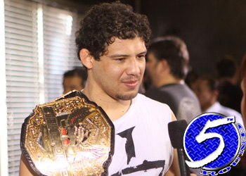 Strikeforce Lightweight Champion Gilbert Melendez
