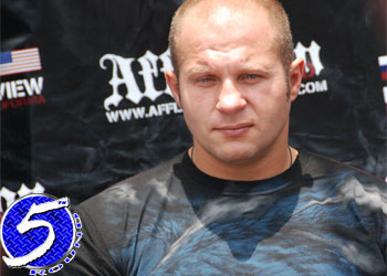 Strikeforce M1 Heavyweight Fedor Emelianenko
