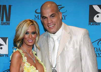 UFC Light Heavyweight Tito Ortiz and Jenna Jameson