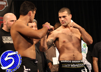Lyoto Machida Mauricio Shogun Rua UFC Weigh Ins