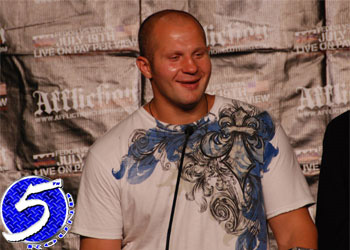 M1 Global Strikeforce Heavyweight Fedor Emelianenko