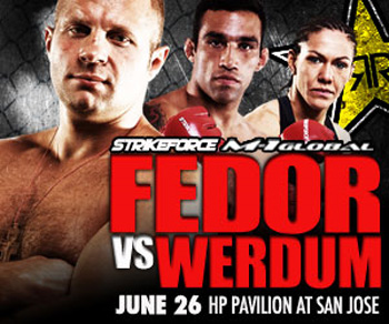 Strikeforce Poster Fedor Werdum