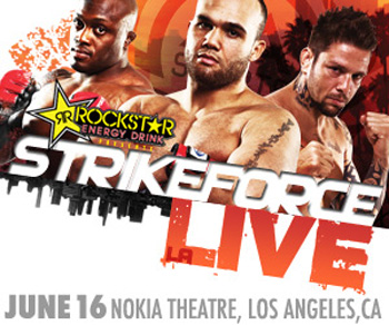 Strikeforce Poster LA Live