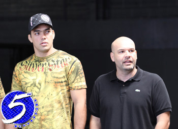 UFC Light Heavyweight Champ Lyoto Machida and Ed Soares
