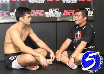 UFC Light Heavyweight ChampLyoto Machida and Father