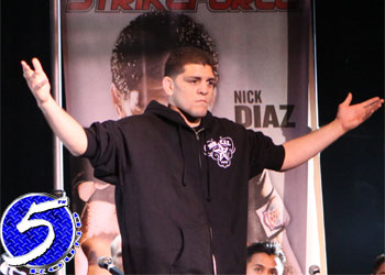 Strikeforce welterweight Nick Diaz