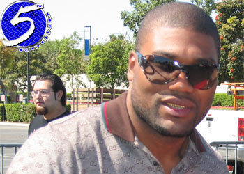 "UFC light heavyweight Quinton ""Rampage"" Jackson"