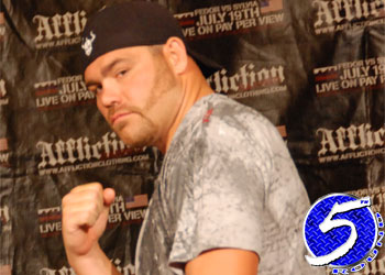 Heavyweight Tim Sylvia