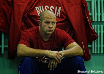 Strikeforce heavyweight Fedor Emelianenko