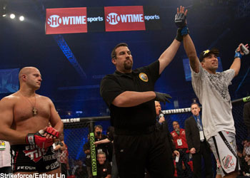 Strikeforce Heavyweights Fedor Emelianenko and Fabricio Werdum