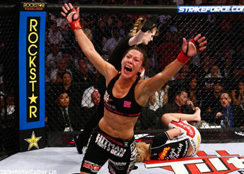Strikeforce Womens Champion Cristiane Cyborg Santos
