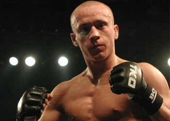WEC featherweight Mark Hominick