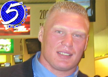UFC heavyweight Brock Lesnar
