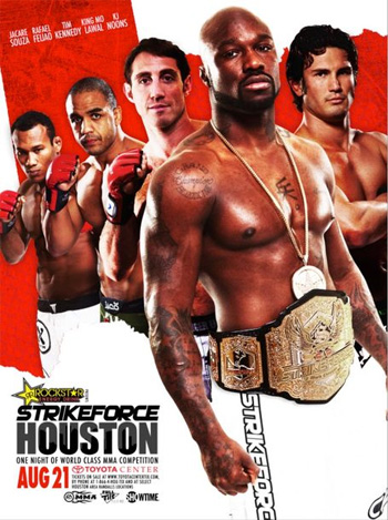 Strikeforce Poster Houston King Mo KJ Noons