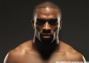 UFC Middleweight Gerald Hurricane Harris