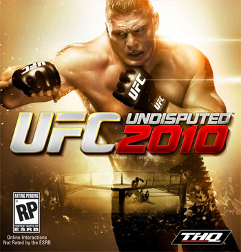 THQ's UFC Undisputed 2010 Cover