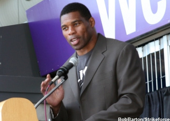 NFL Strikeforce Heavyweight Herschel Walker