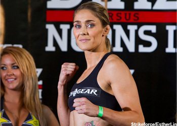 Marloes Coenen Strikeforce Champ