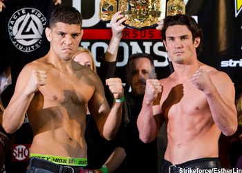 Nick Diaz KJ Noons Strikeforce Showtime