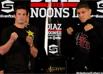 Strikeforce Diaz Weighin Noons