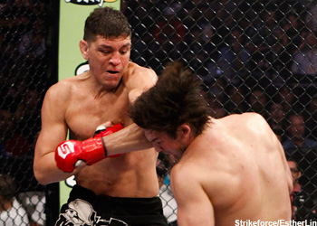 Strikeforce Welterweight Champ Nick Diaz