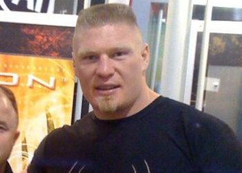UFC Heavyweight Champ Brock Lesnar