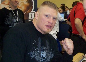 UFC Heavyweight Champ Brock Lesnar WWE NFL