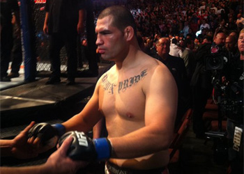 UFC Heavyweight Champ Cain Velasquez