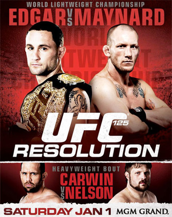 UFC Poster Resolution Edgar Maynard Carwn Nelson 125
