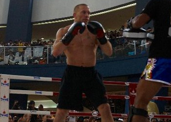 UFC Welterweight Champ Georges St Pierre Sparring Manila