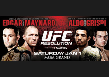 UFC Poster 125 Resolution Edgar Maynard Aldo Grispi