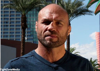 UFC Randy Couture Hall of Fame Champ