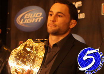 UFC Lightweight Champion Frankie Edgar