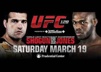UFC Shogun vs. Jones Promo 128 Flyer Poster