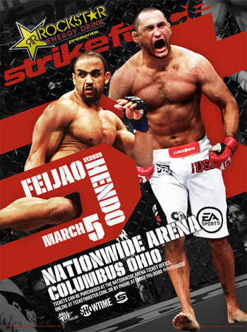 Strikeforce Dan Henderson Feijao Columbus Poster