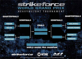 Strikeforce Grand Prix Brackets