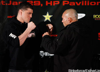 Strikeforce Nick Diaz Cyborg Santos
