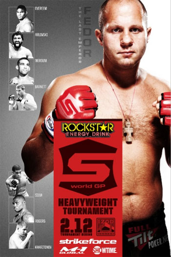Strikeforce Poster 212 Fedor Overeem