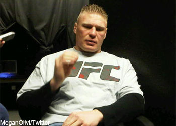 UFC Champ WWE Brock Lesnar