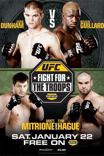 UFC Poster Fight For Troops 2 Dunham Guillard
