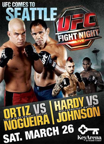UFC Poster Fight Night 24 Tito Ortiz Nogueira