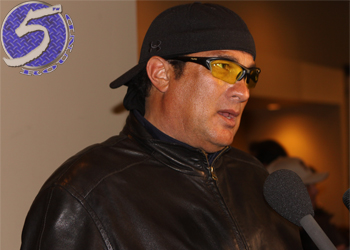 Anderson Silva Friend Steven Seagal
