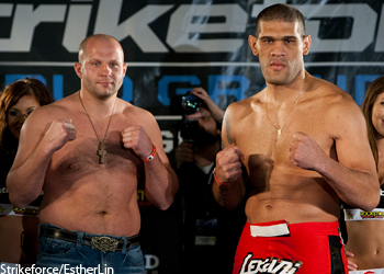 Strikeforce Fedor Emelianenko Antonio Silva